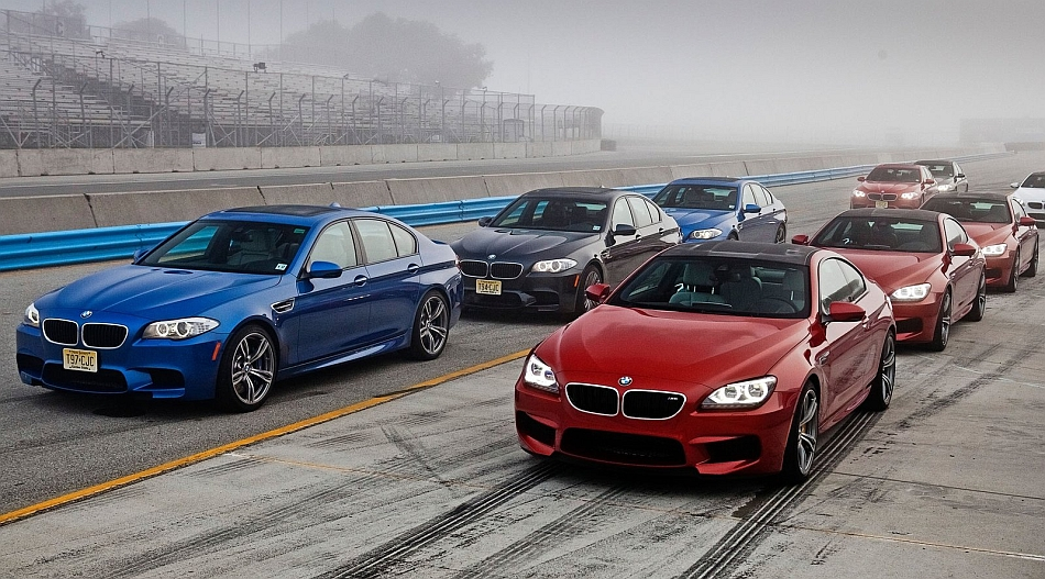 2012 BMW F10 M5 with BMW M6 Angel Eyes