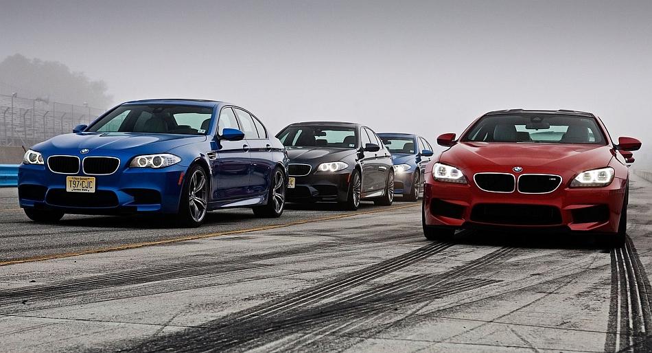2012 BMW F10 M5 with BMW M6