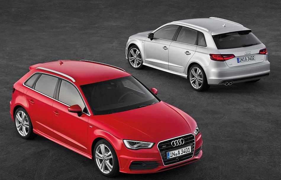2013 Audi A3 Sportback Duo