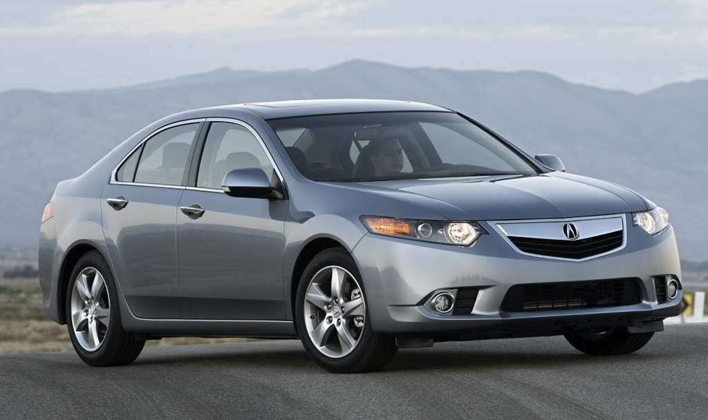 2013 Acura TSX Front 7/8 View