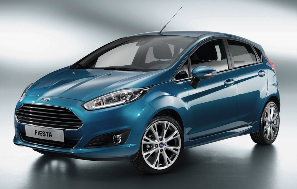2013 Ford Fiesta Front 7/8 View