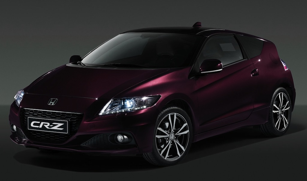 2013 Honda CR-Z Front 3/4 View