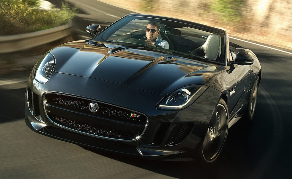 2013 Jaguar F-TYPE Front 3/4 View
