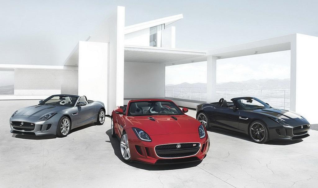 2013 Jaguar F-TYPE Lineup
