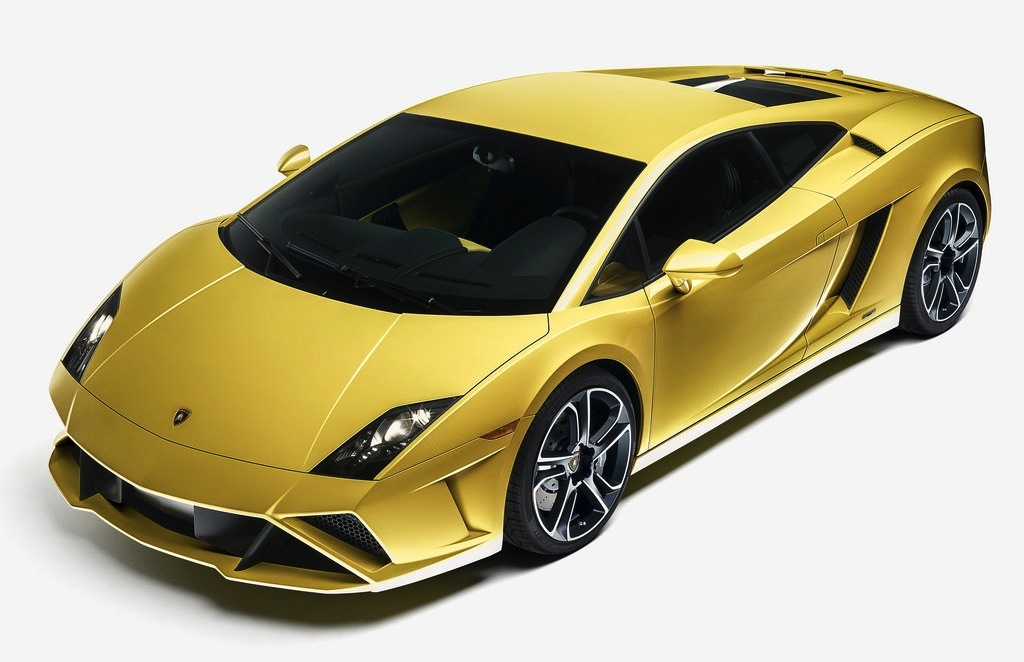 2013 Lamborghini Gallardo LP560-4 Front Quarter Top View