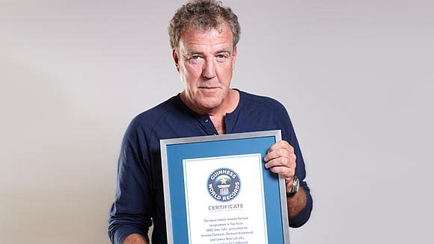 Jeremy Clarkson 2013 Guinness World Record