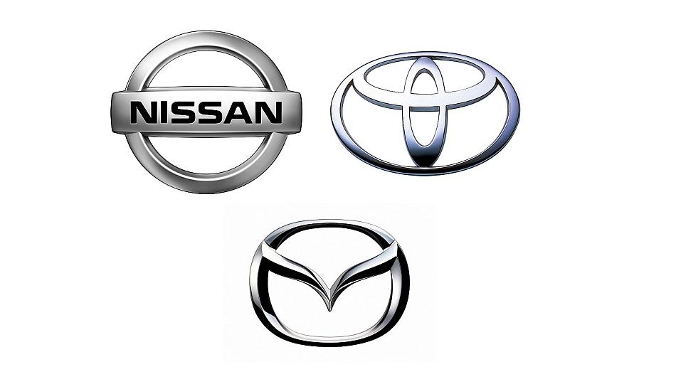 Nissan Toyota Mazda