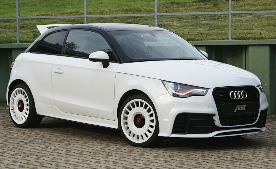 ABT Audi A1 Quattro Rear Front 3/4 View