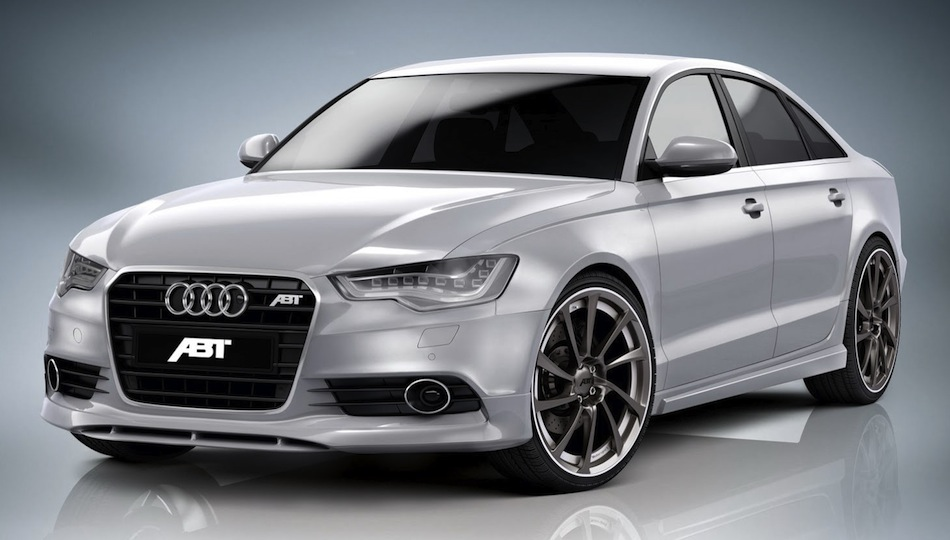ABT Sportsline Audi A6 TDI Front 3/4 View