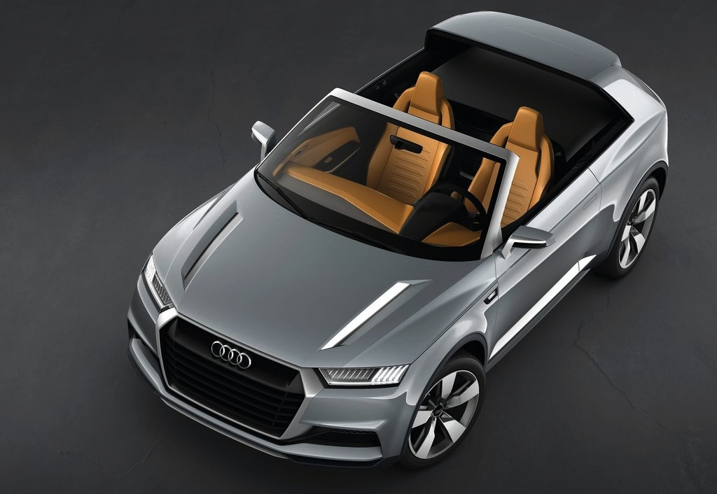 Audi Crosslane Coupe Concept Top Down