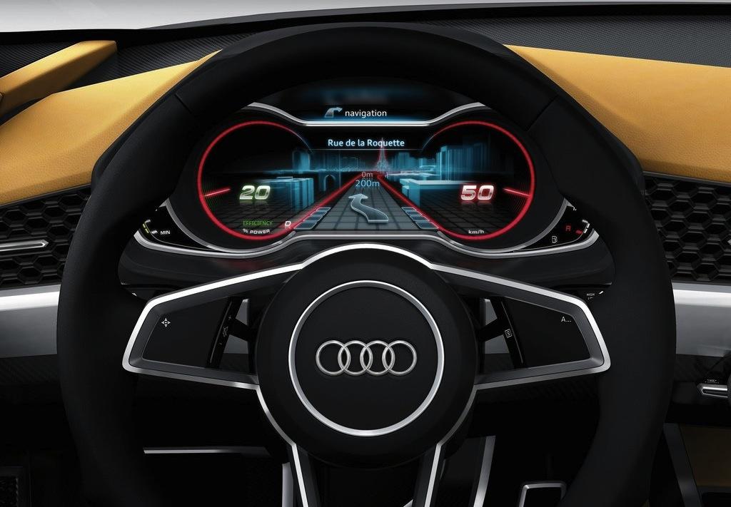 Audi Crosslane Coupe Concept Steering