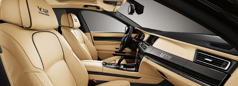 2013 BMW 760Li V12 25 Years Anniversary Edition Front Seats