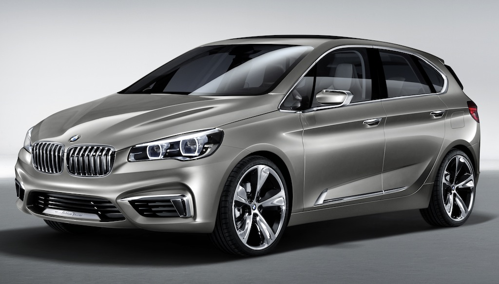BMW Concept Active Tourer Front 7/8 View