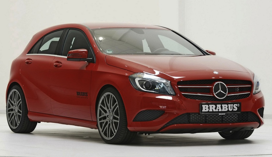 Brabus Mercedes-Benz A-Class Front 3/4 View
