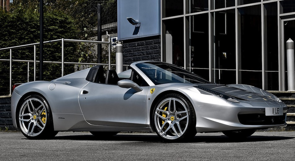 Project Kahn Design Ferrari 458 Italia Spider Front 7/8 View