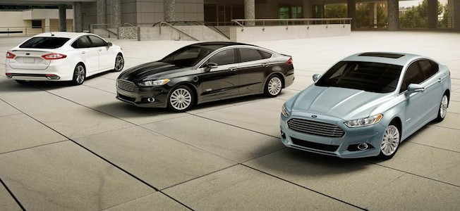 2013 Ford Fusion Lineup