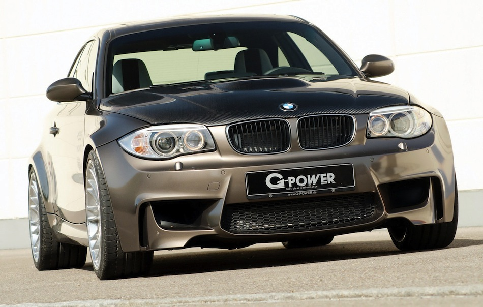 G-POWER BMW 1 Series M Coupe Front 3/4 View