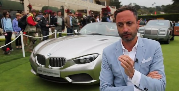 Karim Habib with BMW Zagato Roadster