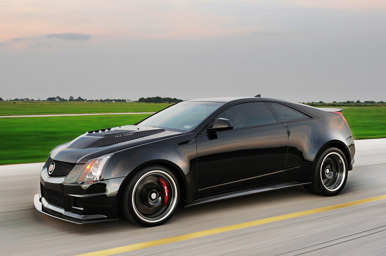 2013 Hennessey VR1200 Front 7/8 Action View