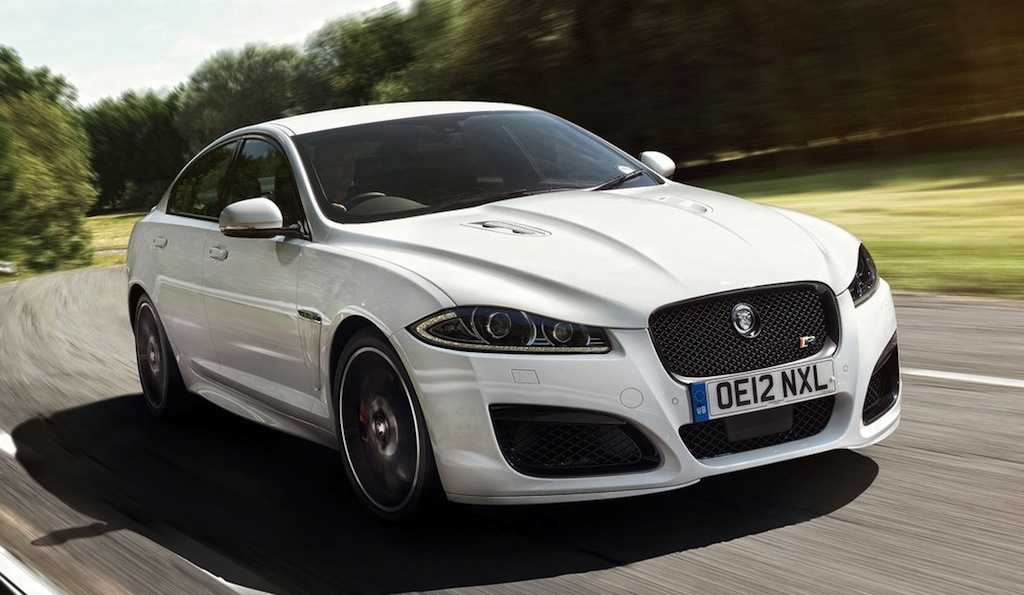 Jaguar XFR Speed Pack Front 3/4 Action View