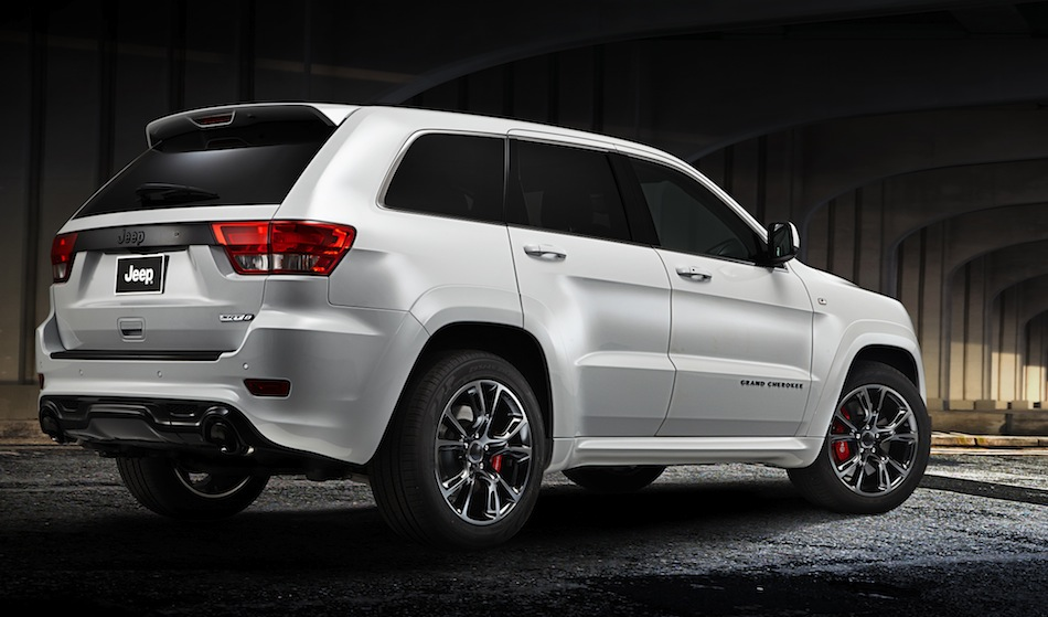 Jeep Grand Cherokee SRT Limited Edition Rear 7/8 View