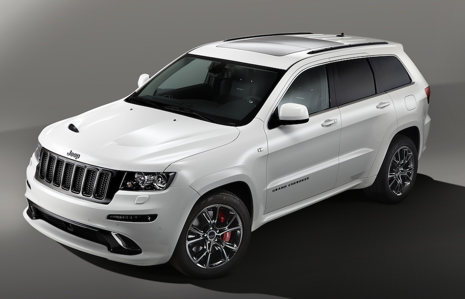 Jeep Grand Cherokee SRT Limited Edition Front Top View