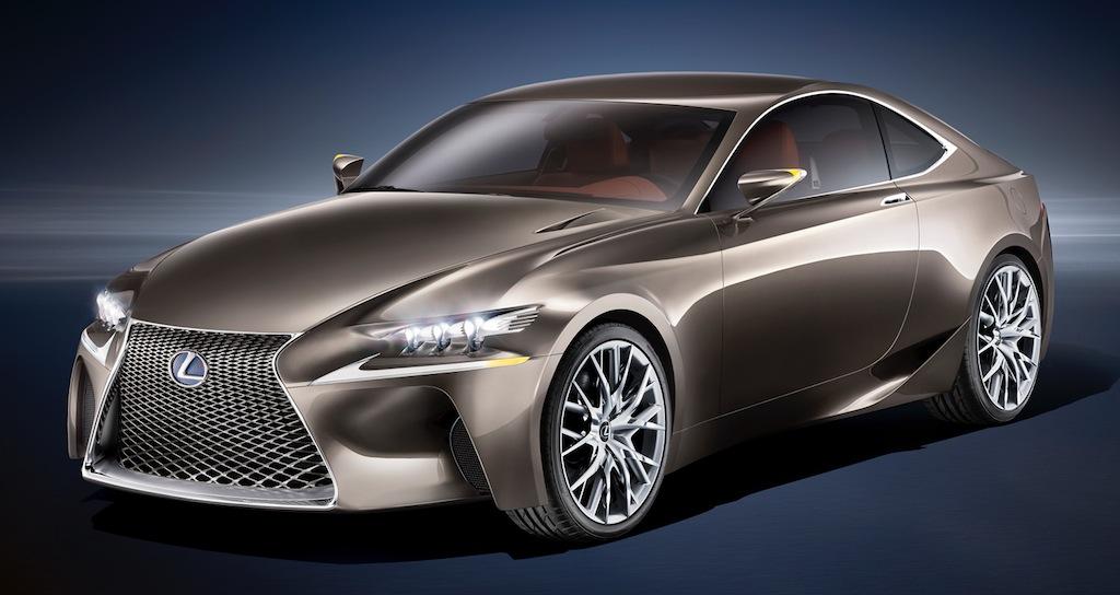 Lexus LF-CC Concept Front 3/4 View