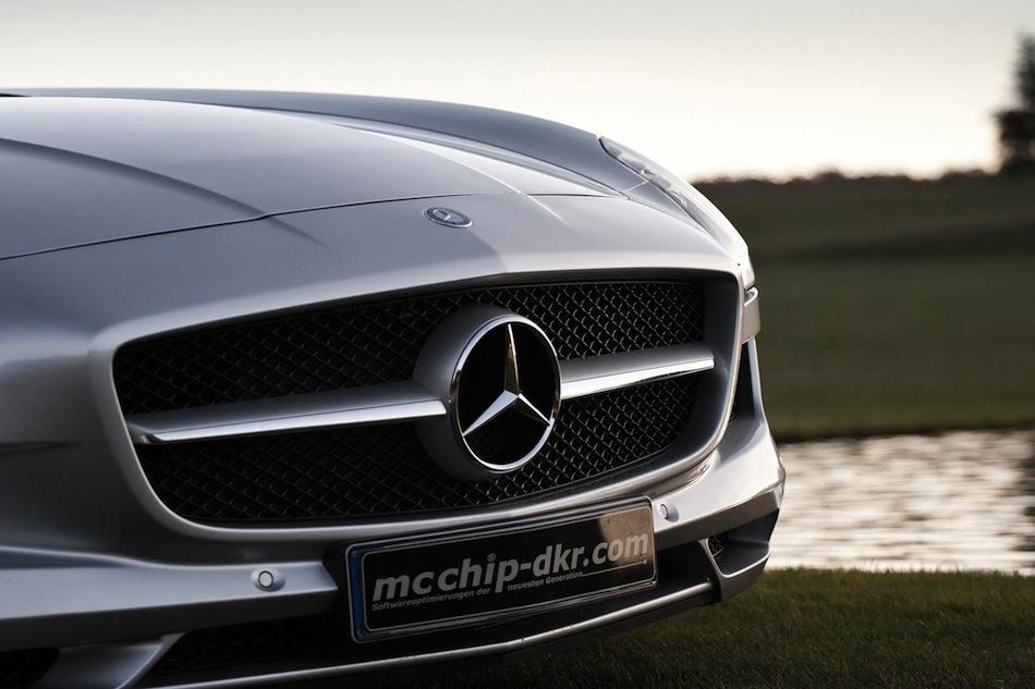 McChip Mercedes SLS AMG MC700 Grille