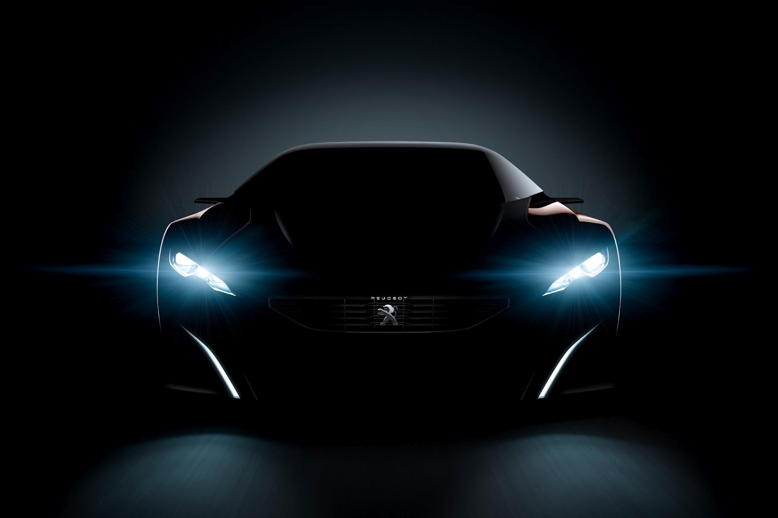 Peugeot Onyx Concept Teaser Front
