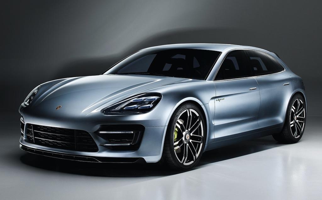 Porsche Panamera Sport Turismo Concept Front 3/4 View