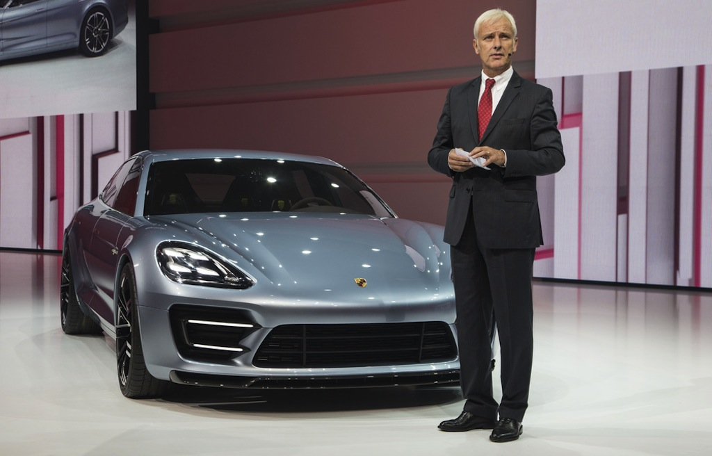 Porsche Panamera Sport Turismo Concept Live