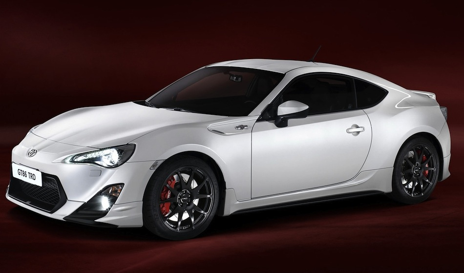 TRD Toyota GT86 Performance Line Kit Front 7/8 View