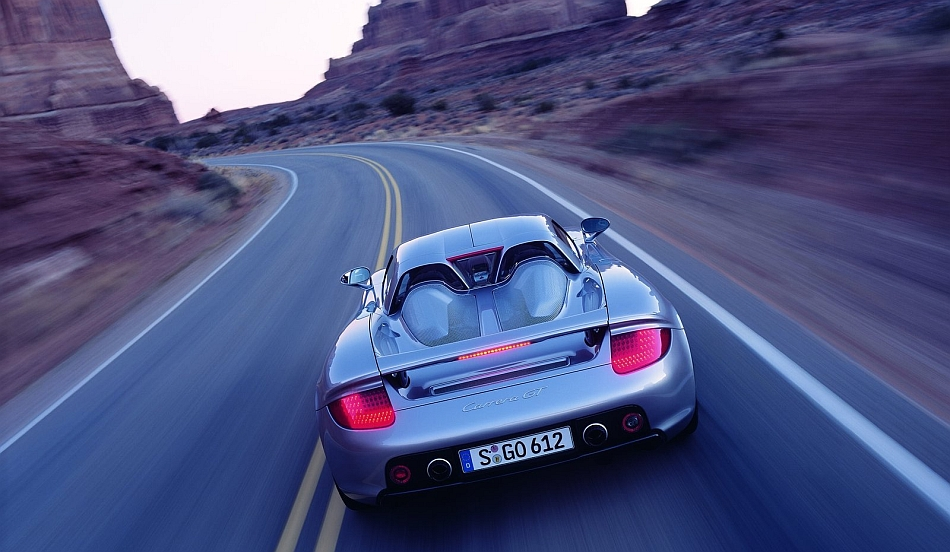 2004 Porsche Carrera GT Rear Cruising