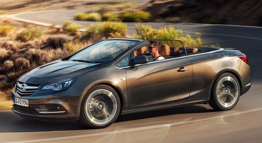 2013 Opel Cascada Front Quarter View