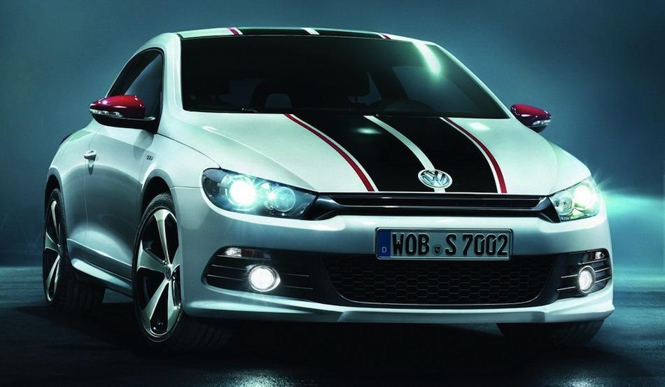 Volkswagen Scirocco GTS Front 3/4 View