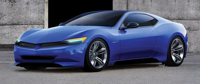 SRT Barracuda Rendering CARandDRIVER