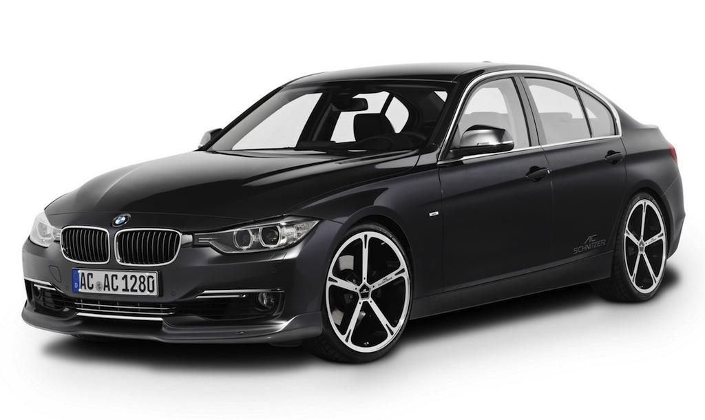 AC Schnitzer BMW 3-Series Black Front 7/8 View