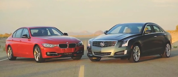 BMW 3 Series vs Cadillac ATS