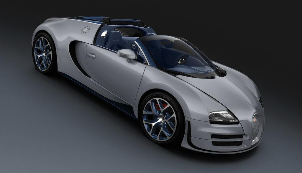 Bugatti Veyron 16.4 Grand Sport Vitesse Rafale Top Down