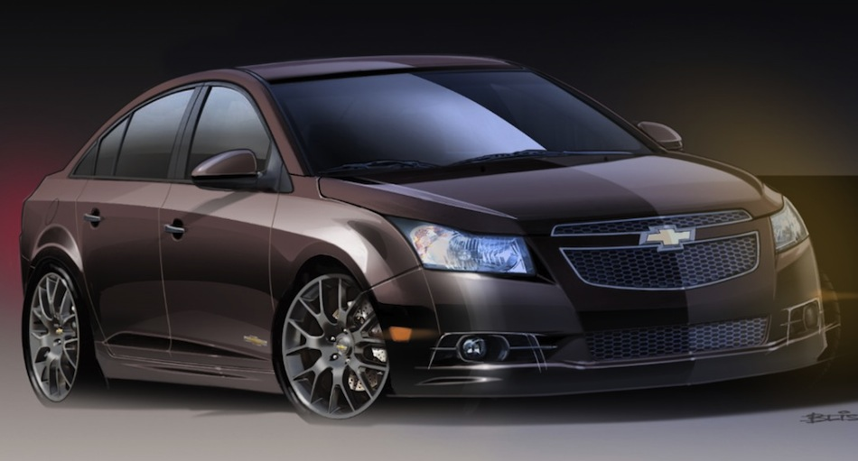 Chevrolet Cruze Upscale Front