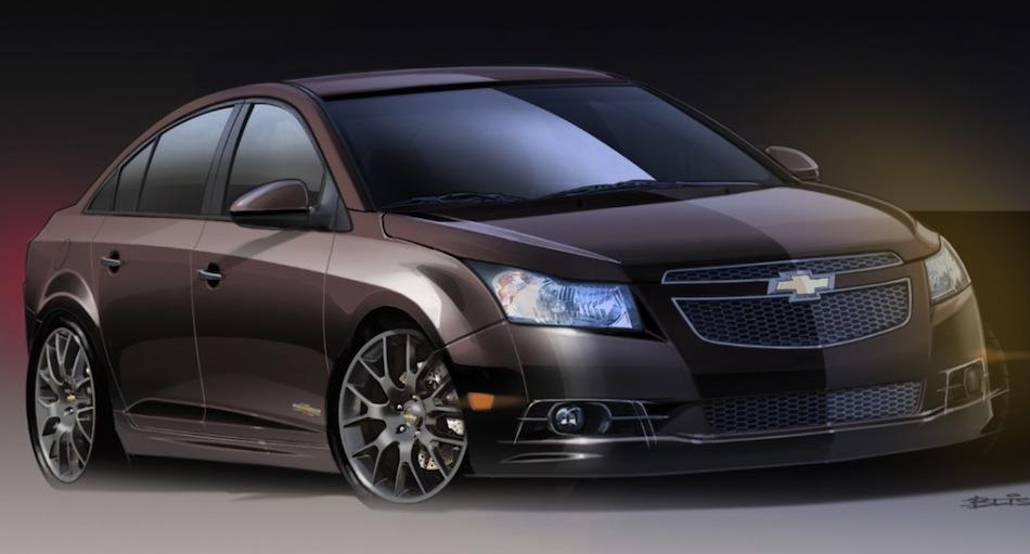 Chevrolet Cruze Upscale Front