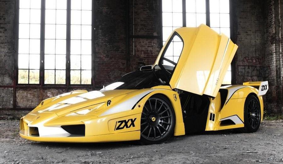 Edo Competition Ferrari Enzo/ZXX Front Quarter View Doors Up