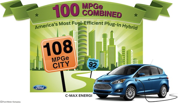 Ford C-MAX Energi 100 MPGe