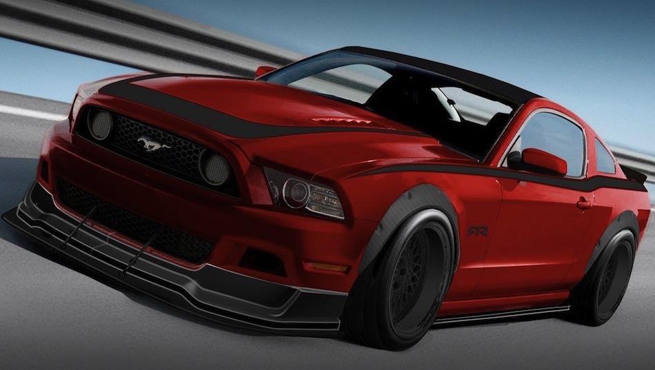 Ford Mustang SEMA 2012 6