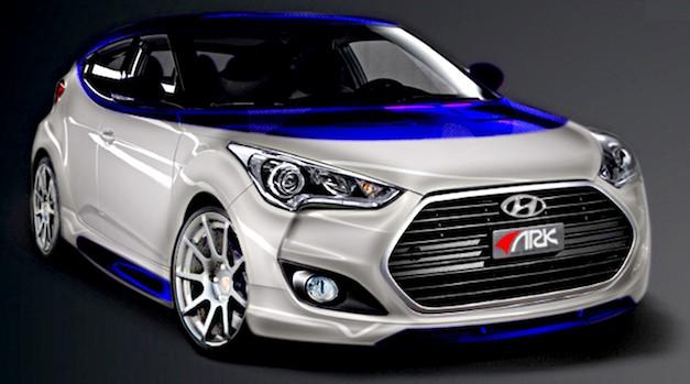 ARK Performance Hyundai Veloster Alpine Concept
