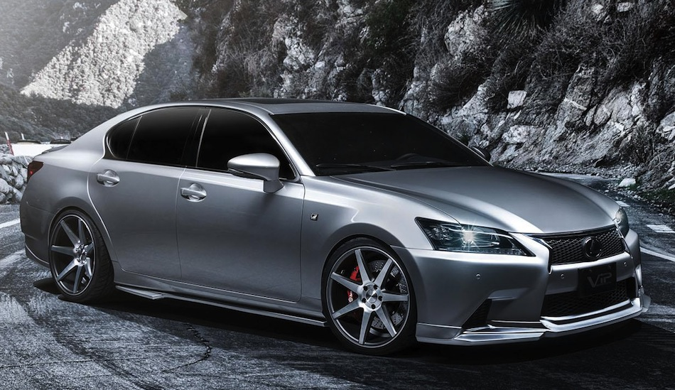 Supercharged 2013 Lexus GS 350 F SPORT Front 7/8