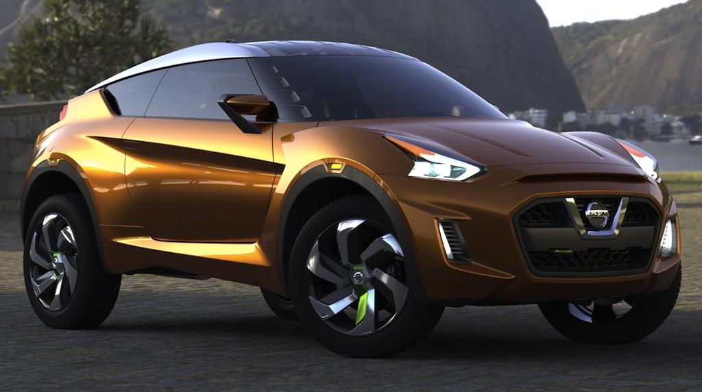 Nissan EXTREM Concept Front Main Shot