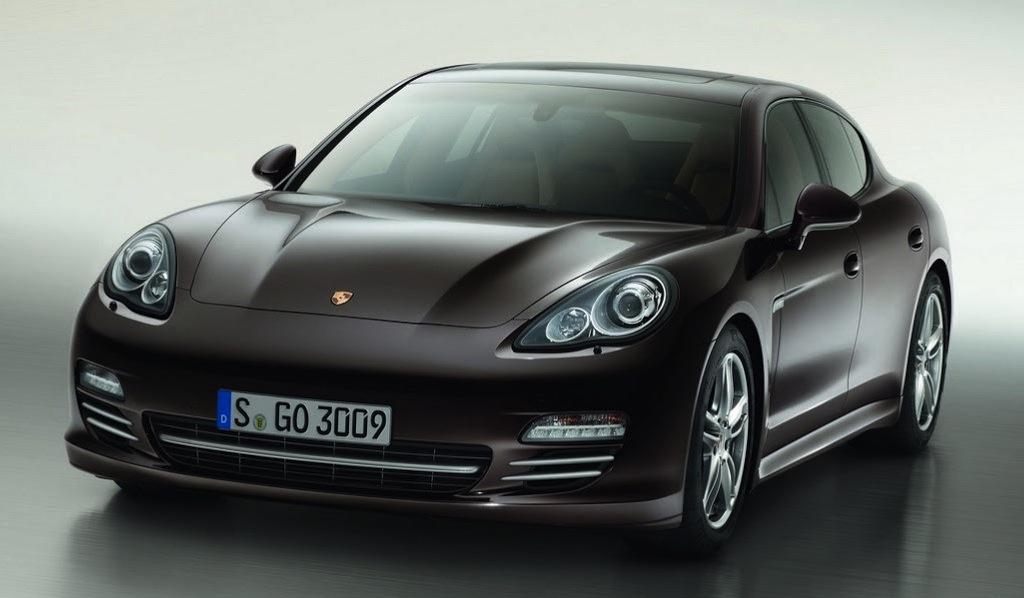 Porsche Panamera Platinum Edition Front 3/4 View