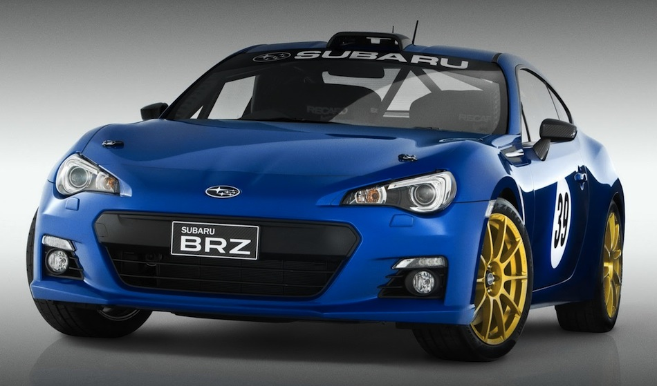 Subaru BRZ Motorsport Track Car Front 3/4 View