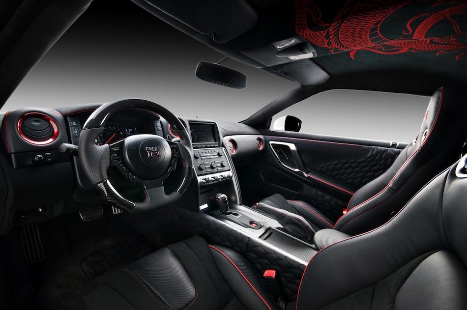 Vilner Nissan GT-R YOTD Interior